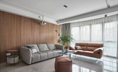 现代台式风,温暖木质简约设计