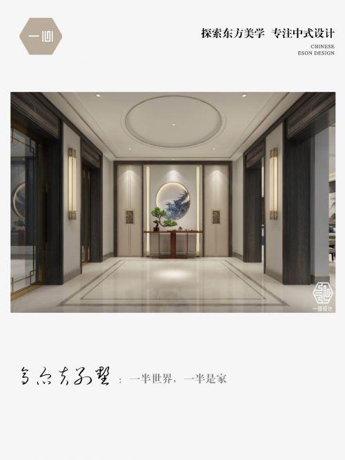 一心中式设计丨高尔夫别墅