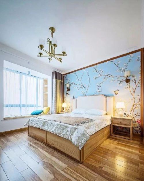 中式风格的四室两厅案例,多了几分雅致清宁