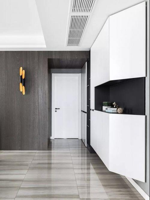 117㎡现代简约风格装修,简约与舒适的典范之家!